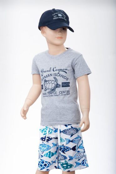 Youth tee/hat combo