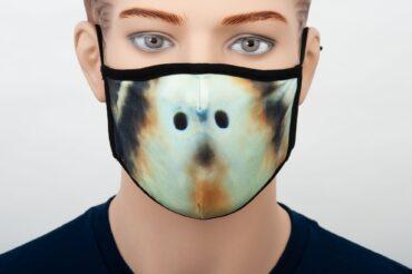 Sea Turtle Print Mask